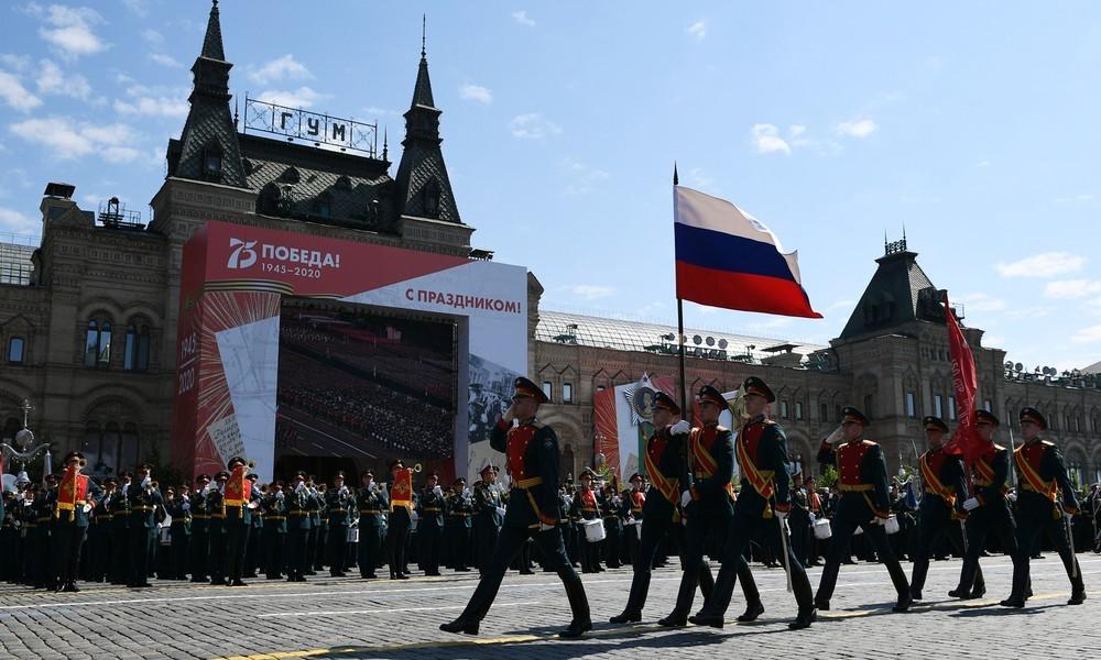 Militärparade in Moskau zum 75. Jahrestag des Sieges im Großen Vaterländischen Krieg