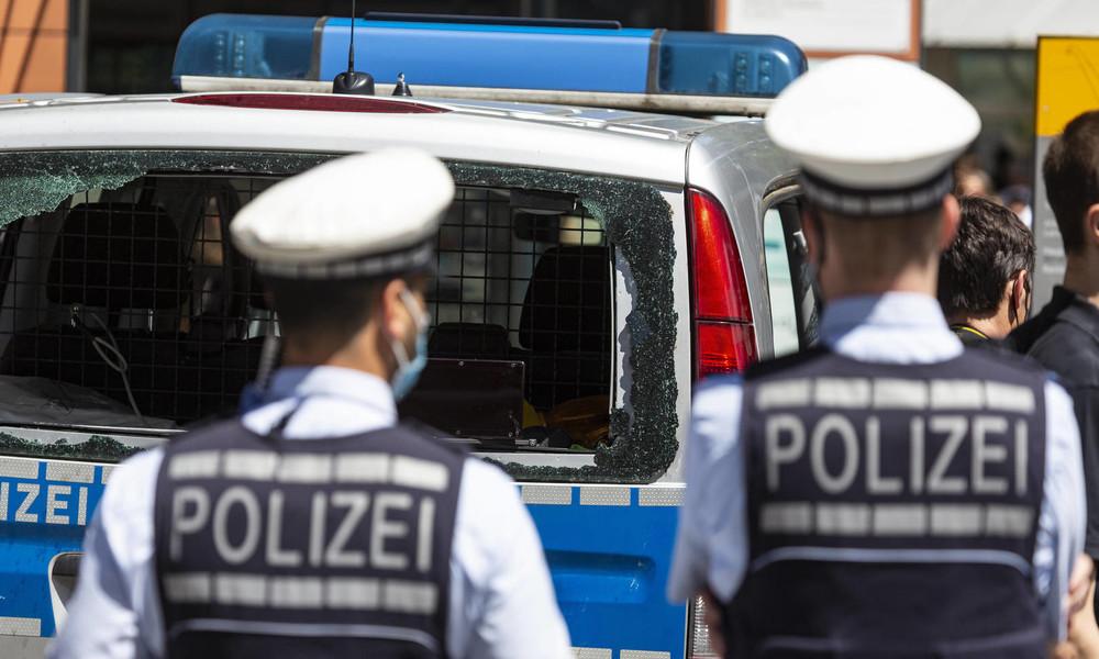 """Polizeigewerkschafter kritisiert """"Verharmlosung"""" der Stuttgart-Randalierer als """"Partyszene"""""""
