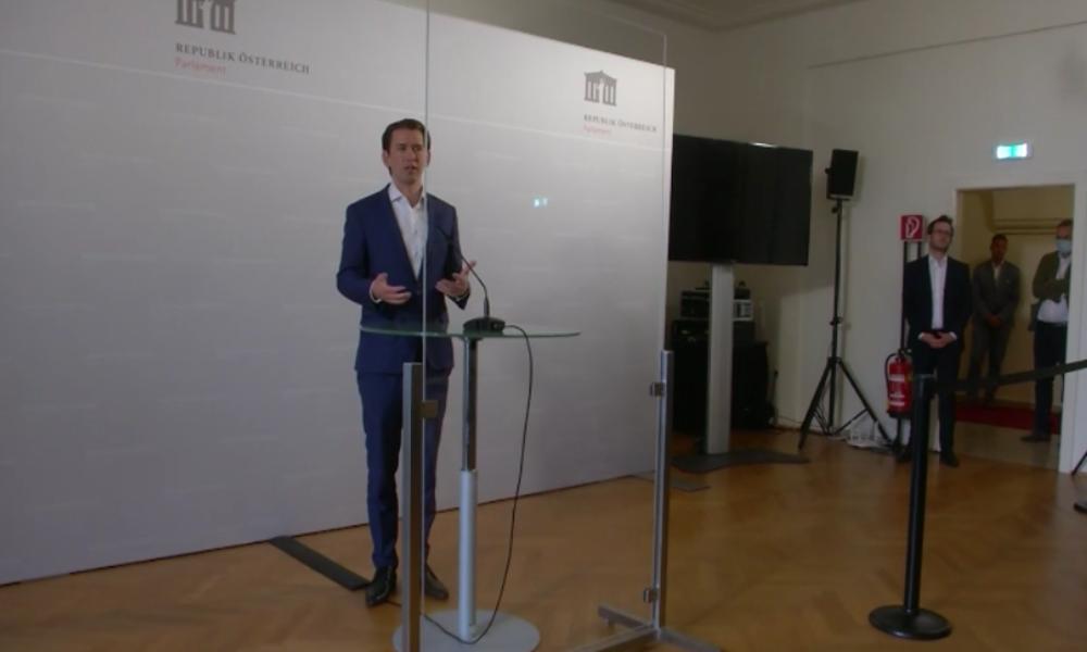"""Österreich: """"Hab sie gelöscht"""" – Kurz kann SMS mit Strache für Ibiza-Untersuchung nicht offenlegen"""