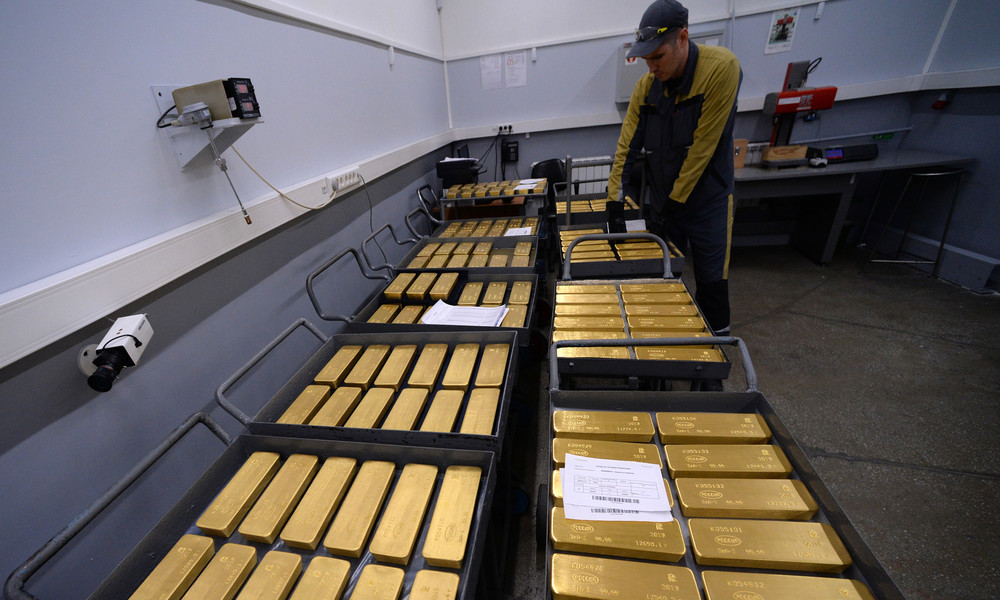 Vereinigung russischer Goldproduzenten: Russland steigert Goldproduktion trotz COVID-19-Pandemie