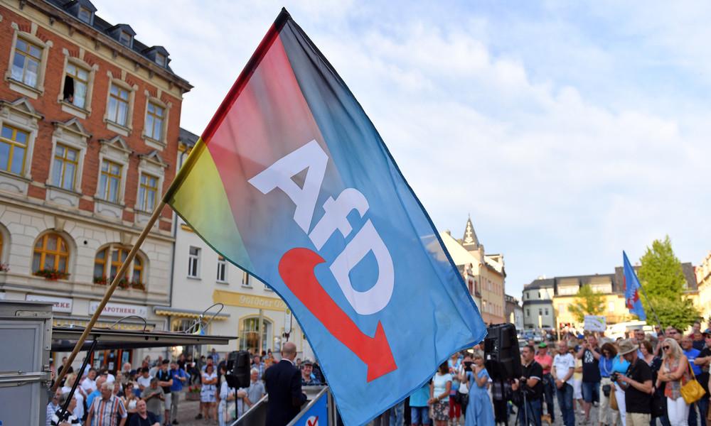 LIVE: Kundgebung der AfD und Gegendemonstration in Stuttgart