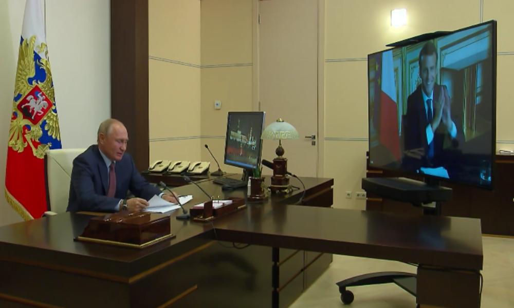 Macron zu Putin: Lassen Sie uns Europa von Lissabon bis Wladiwostok zu einem Ort des Friedens machen