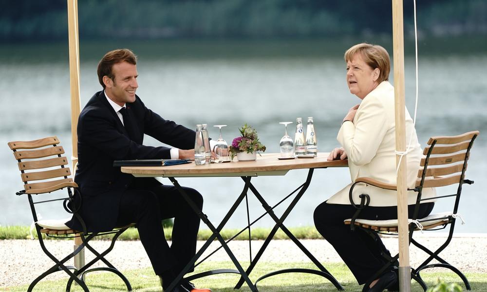 LIVE: Merkel und Macron geben gemeinsame Pressekonferenz – Corona-Wiederaufbau im Mittelpunkt