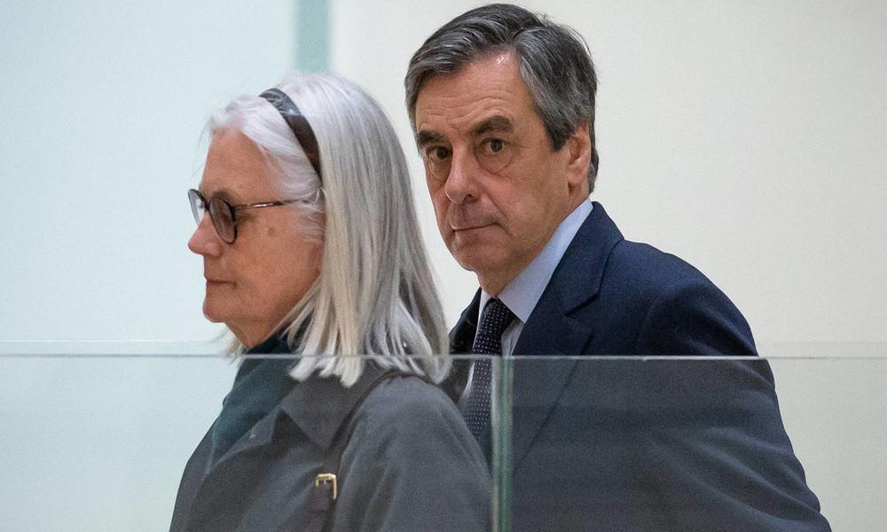 Veruntreuungsskandal: Frankreichs Ex-Premier Fillon zu Gefängnis verurteilt
