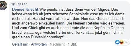 """Rassismusverdacht in der Schweiz: Anonymer Twitterer vertreibt """"Mohrenköpfe"""" aus den Regalen"""