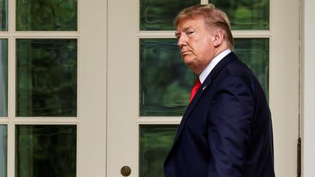 Donald Trump flüchtet wegen Protesten am Weißen Haus zeitweise in den Bunker