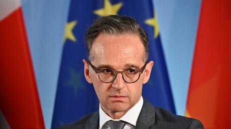 Für Abrüstung, also, im Prinzip: Heiko Maas im Mai 2020 in Berlin