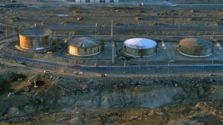 Aus diesem Wärmekraftwerk sind rund 21.000 Liter Diesel ausgelaufen