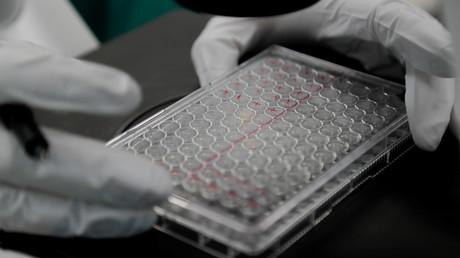 Auch in Russland wird an einem Impfstoff gearbeitet, so im Biotechnologieunternehmen BIOCAD in Sankt Petersburg. (Archivbild vom 20. Mai 2020)