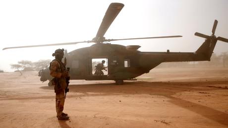 Französische Armee tötet Chef von Al-Qaida-Terrorgruppe in Mali (Archivbild)