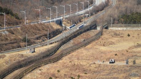 Streit um Überläufer und Propagandamaterial: Pjöngjang will Kommunikation mit Seoul abbrechen (Archivbild: Die koreanische demilitarisierte Zone im Landkreis Kosŏng-gun der Provinz Kangwŏn-do. 02. Dezember 2018)