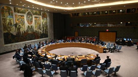 Sitzung des UN-Sicherheitsrats am 26. April.