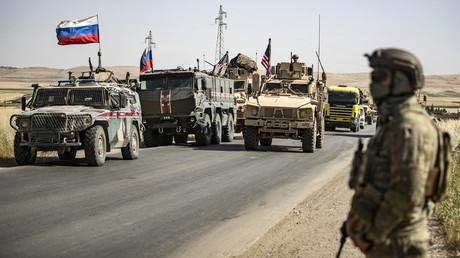 In Syrien häufen sich in den vergangenen Wochen die Provokationen bei Aufeinandertreffen von US- und russischen Truppen (Bild vom 3. Juni).