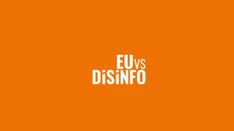 Das Logo von der Webseite https://euvsdisinfo.eu.