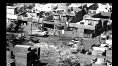Screenshot des berüchtigten Videos von WikiLeaks.
