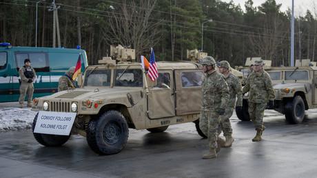 Demokraten im US-Kongress wollen, dass die US-Truppen in Deutschland bleiben (Bild vom 12.01.17).