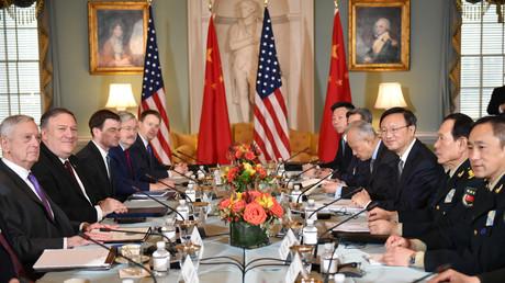 Seit diesem Treffen in Washington am 9. November 2018 verschlechterten sich die Beziehungen zwischen den USA und China deutlich.