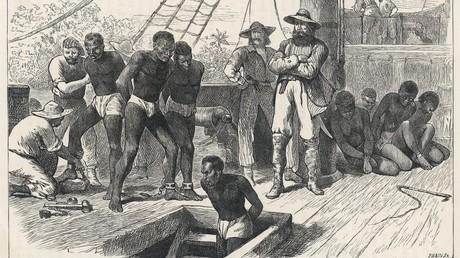 Der Reichtum etlicher britischer Unternehmen gründete sich auf dem transatlantischen Sklavenhandel. (Symbolbild)