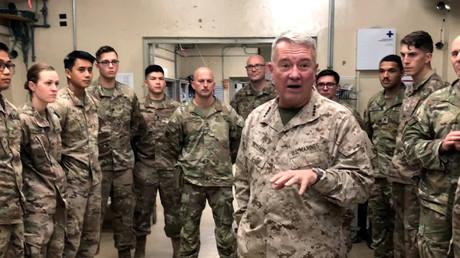 US-General Kenneth McKenzie will sich vom Iran nicht unterkriegen lassen. Die