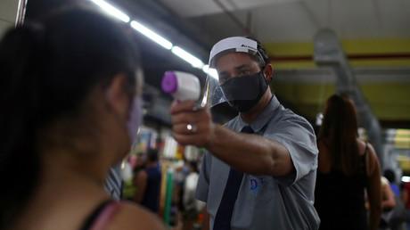 Mehr als eine Million Corona-Infizierte in Brasilien (Archivbild)