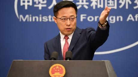 Der Sprecher des chinesischen Außenamtes Zhao Lijian.