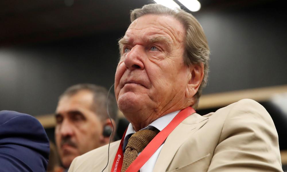 """""""Angriff auf europäische Wirtschaft"""": Altkanzler Schröder kritisiert USA scharf"""