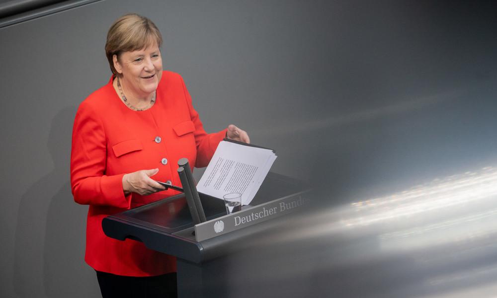 LIVE: Bundeskanzlerin Angela Merkel beantwortet Fragen der Abgeordneten