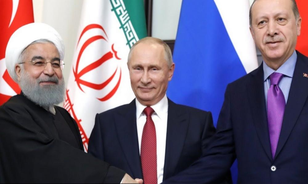 LIVE: Syrien-Videokonferenz der Präsidenten Putin, Rohani und Erdoğan (englisch)