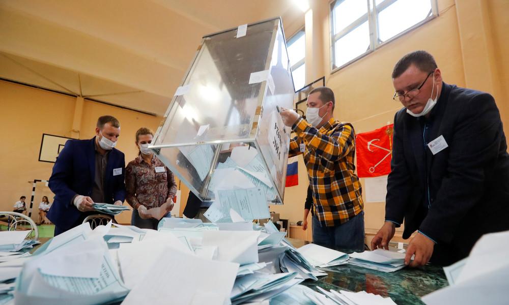 Endergebnis zur Verfassungsreform in Russland: Rund 78 Prozent stimmten dafür