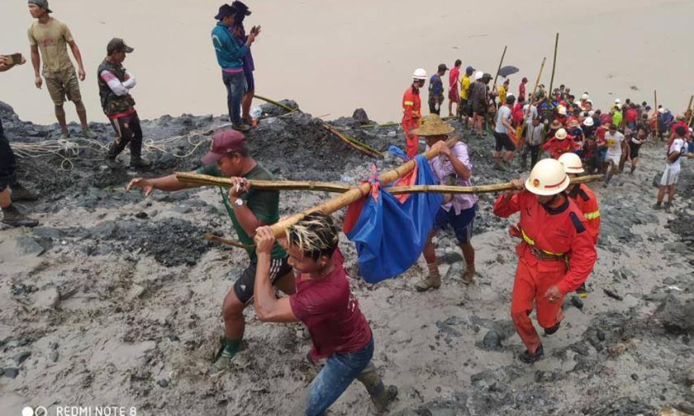 Bergwerksunglück: Über 100 Menschen sterben durch Schlammlawine in Myanmar