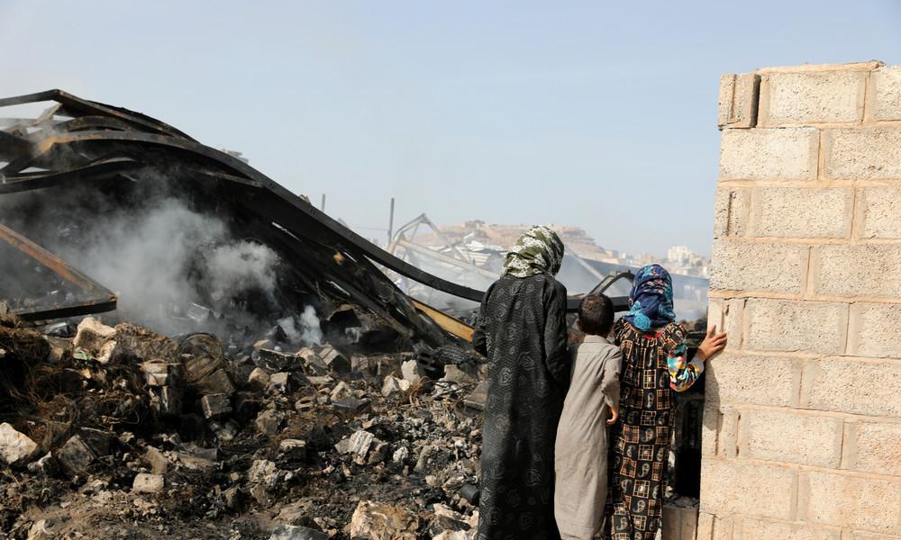 Trotz UN-Beschluss zu Waffenruhe: Luftangriffe der Saudi-geführten Koalition im Jemen