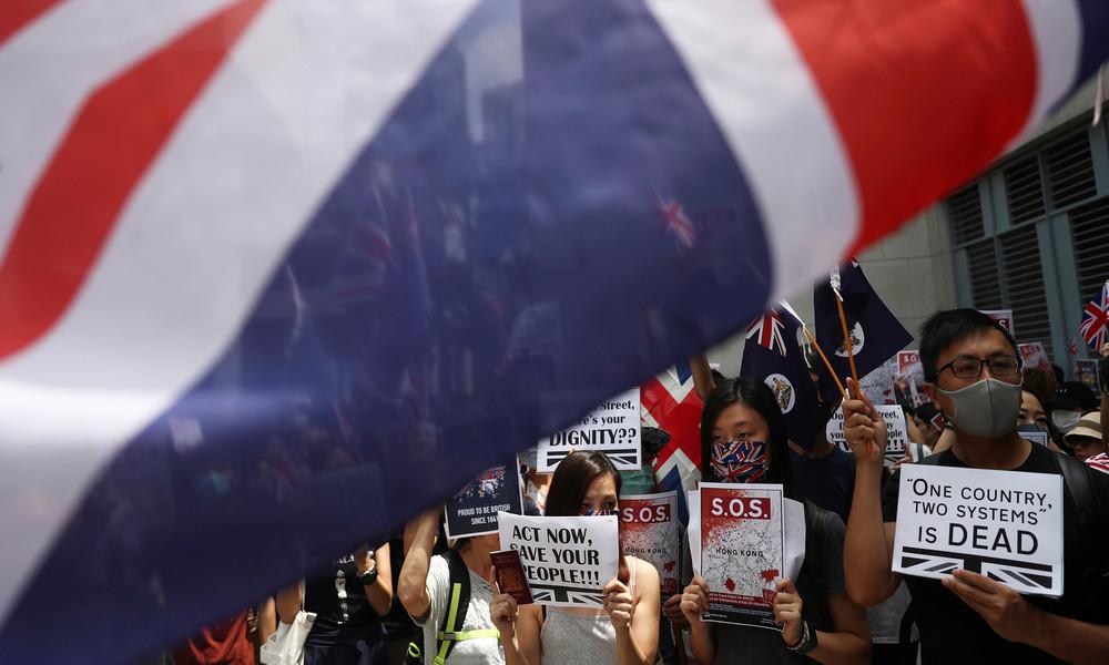 """""""Kolonialherrschaft ist vorbei"""": China droht Großbritannien im Streit um Hongkong mit Gegenmaßnahmen"""