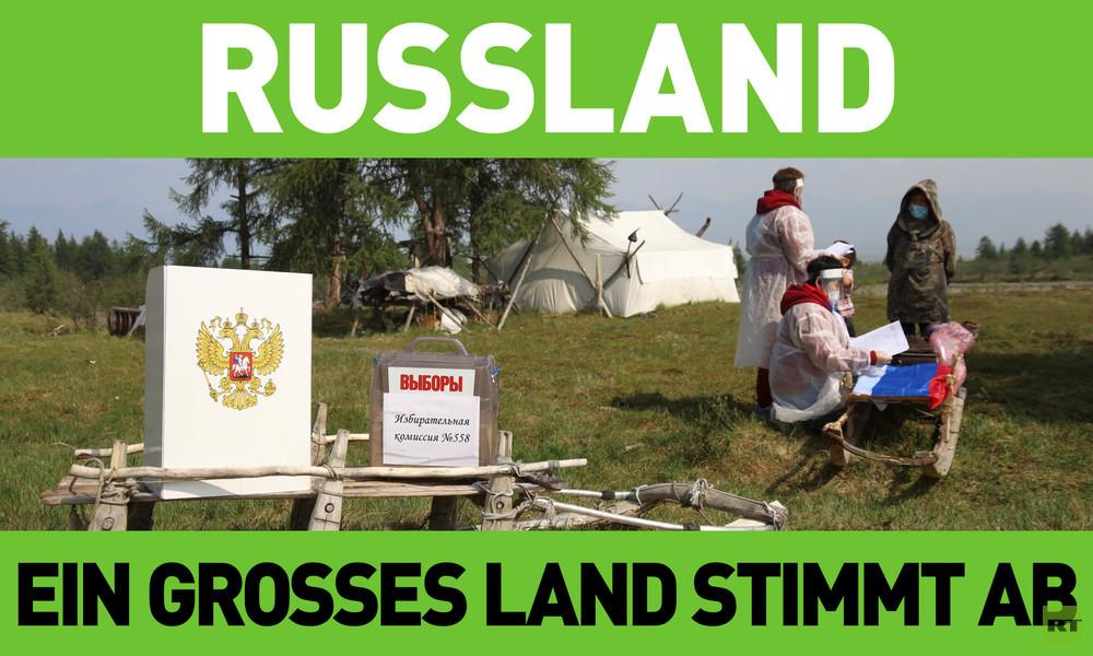 Ein großes Land stimmt ab: Wie die Abstimmung über die Verfassungsreform in Russland ablief
