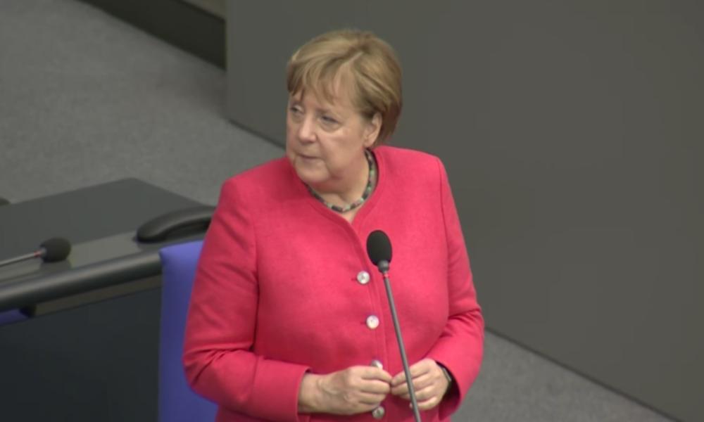 Merkel verurteilt gesetzeswidrige, exterritoriale US-Sanktionen und hält an Nord Stream 2 fest