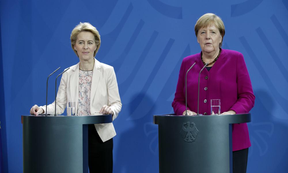 LIVE: Merkel und von der Leyen geben gemeinsame Pressekonferenz zur deutschen EU-Ratspräsidentschaft