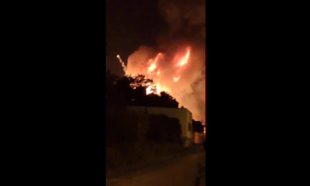 Explosionen in Frankreich: Feuer greift auf Gasflaschen über