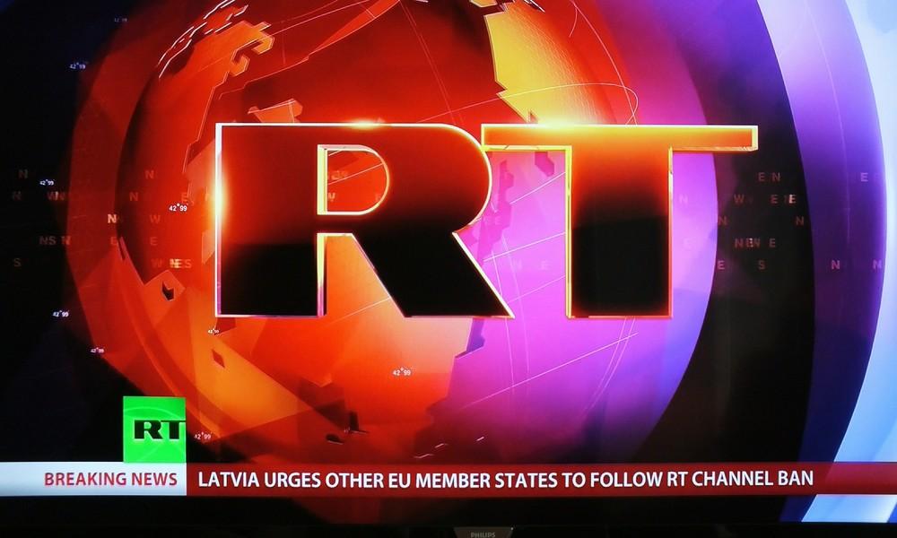 """""""Total besessen von der Säuberung des Informationsraums"""": Moskau kritisiert RT-Verbot in Lettland"""