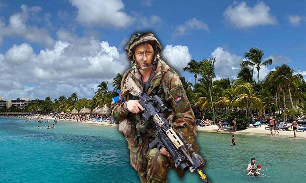 Die vergessene Kolonialmacht: Niederlande schicken Soldaten zur Aufstandsbekämpfung in die Karibik