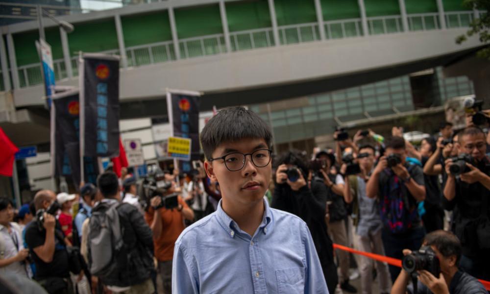 Hat BILD ein Interview mit dem Hongkonger Aktivisten Joshua Wong erfunden?