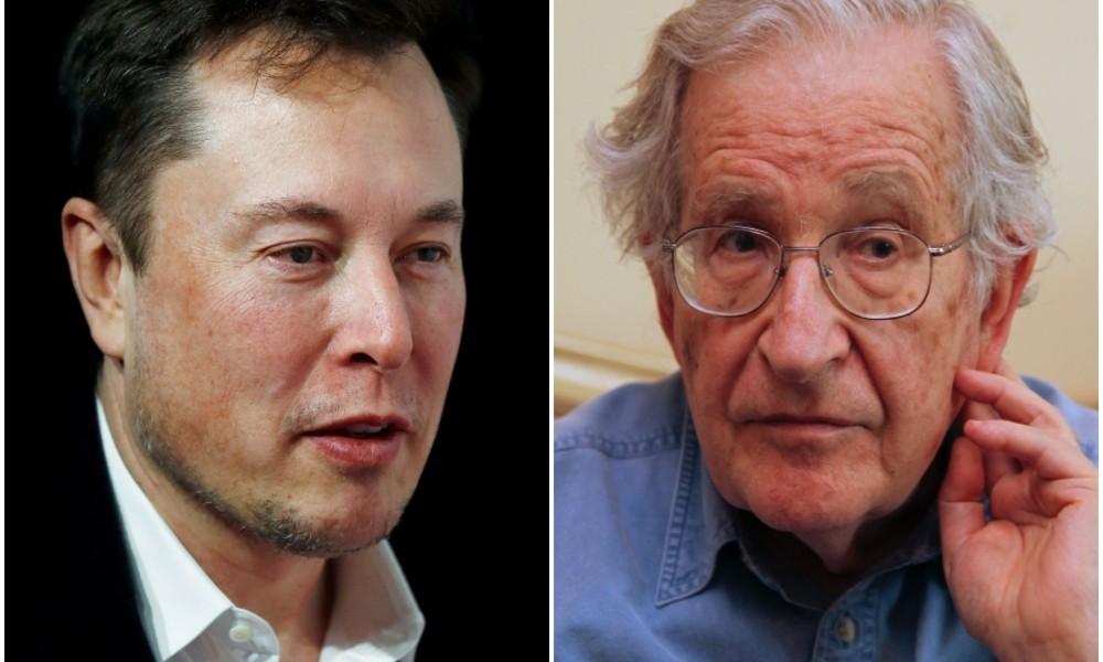 """""""Der ist Schei...!"""" – Musk geht auf Chomsky los"""