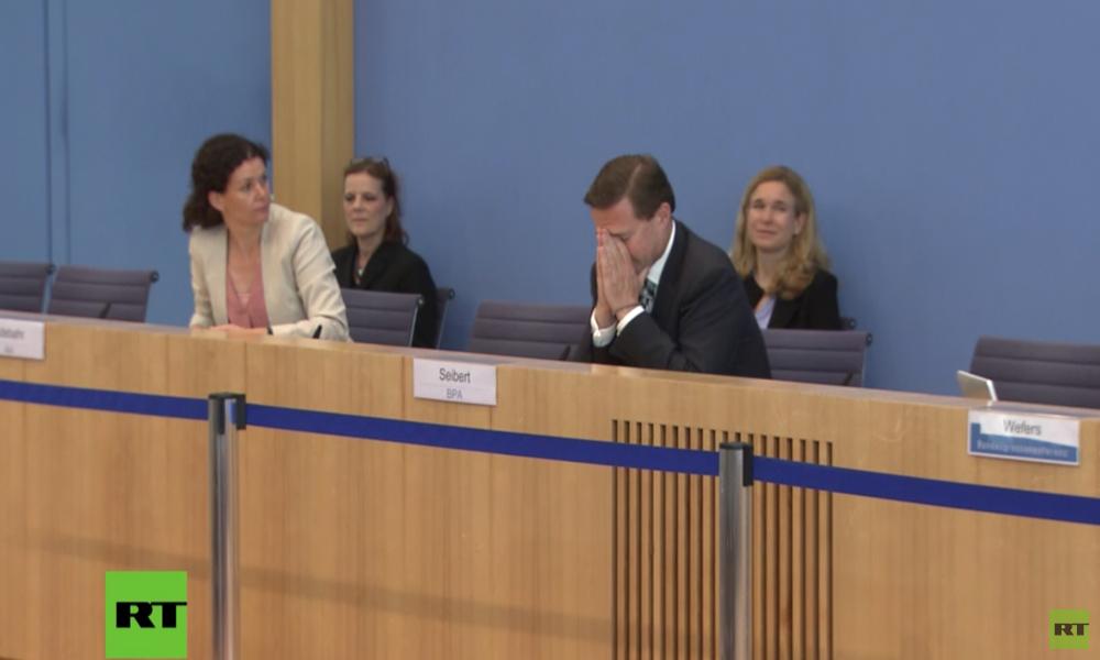 """RT fragt nach deutscher Wahleinmischung in Kroatien – Reaktion des Regierungssprechers: """"Oh Mann..."""""""
