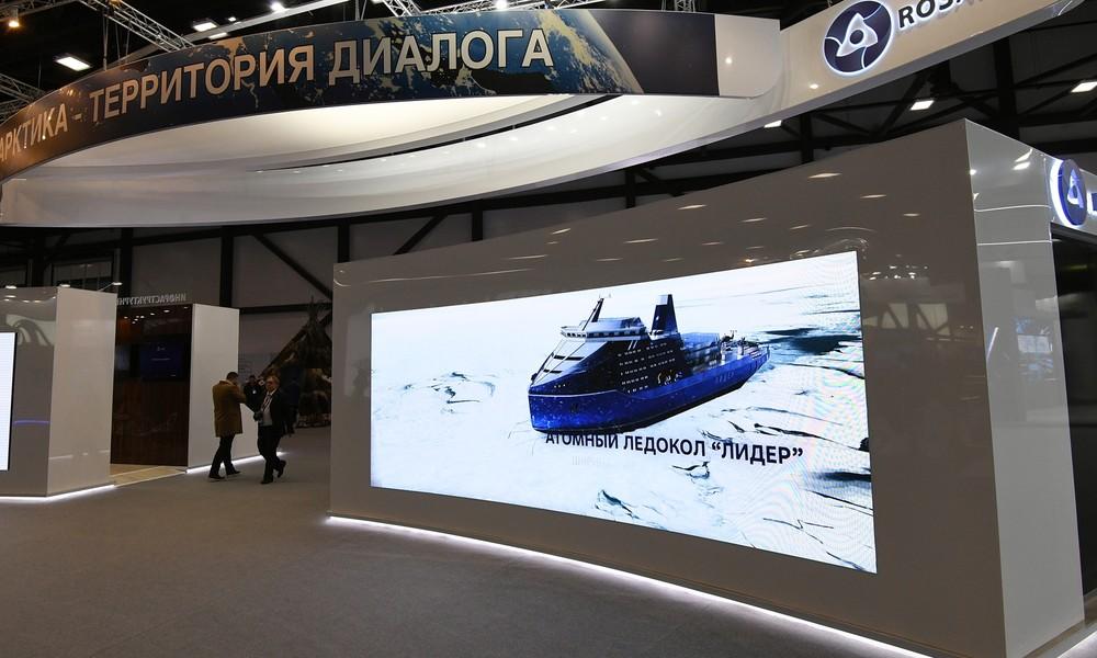 Der erste seiner Art: Russland beginnt Bau des größten Atomeisbrechers der Welt