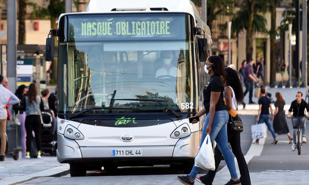 Frankreich: Busfahrer hirntot geprügelt, weil er Fahrgäste ohne Gesichtsmaske nicht einsteigen ließ