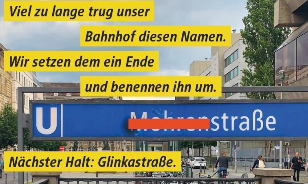 """""""BVG folgt politischen Parolen"""" – Kritik an Umbenennung des Berliner U-Bahnhofs """"Mohrenstraße"""""""