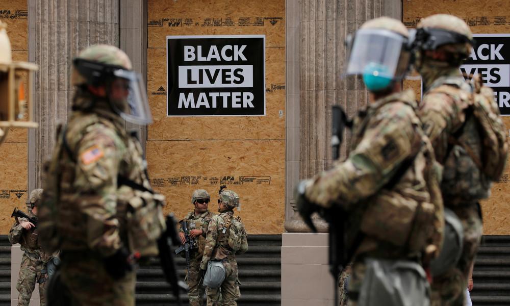 Nach schweren Gewalttaten durch BLM-Aktivisten: US-Gouverneur setzt Nationalgarde ein