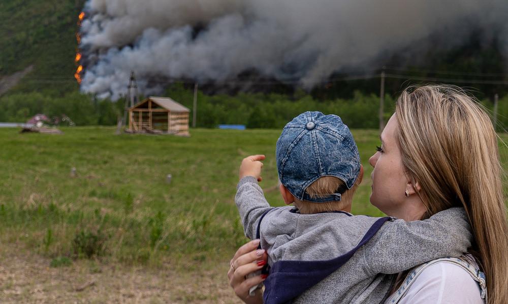 Russland: Waldbrände flammen auf – arktisches Sibirien bricht Hitzerekord