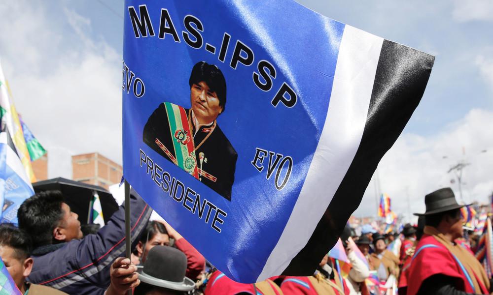 Aktuelle Umfrage: Selbsternannte Interimsregierung in Bolivien würde bei Wahlen haushoch verlieren