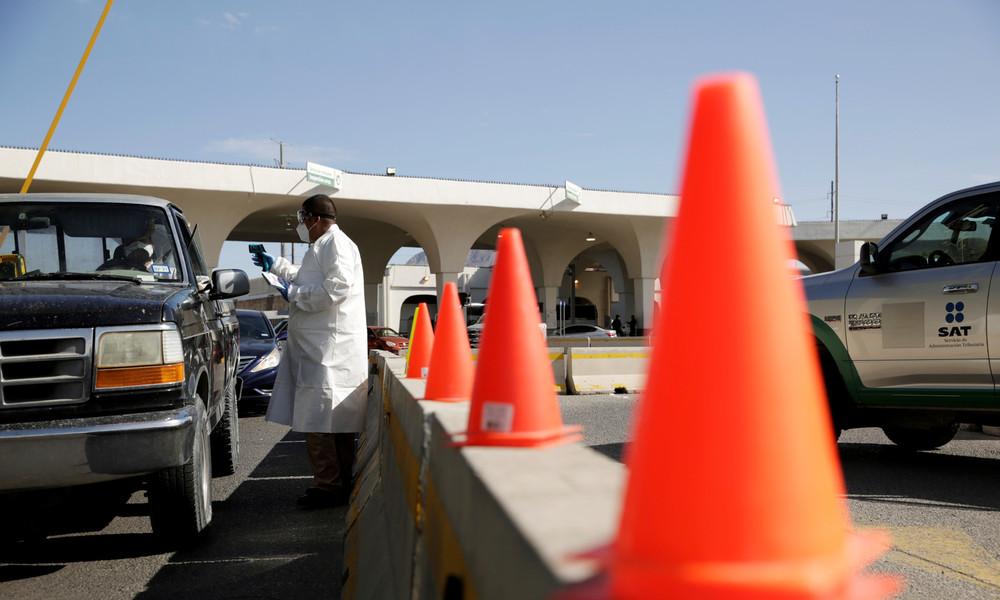 Einreise unerwünscht – Mexikaner blockieren Straße zu den USA
