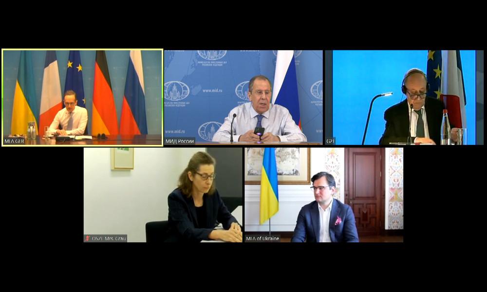 Lawrow bemängelt Kiews Unwillen zur Umsetzung der Minsker Vereinbarungen