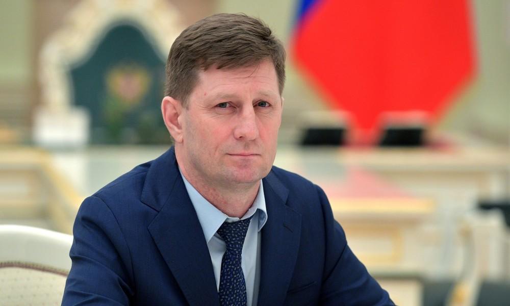 Russischer Inlandsgeheimdienst FSB nimmt Gouverneur der Region Chabarowsk fest